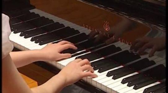 07夏日里最后的玫瑰 中央音乐学院钢琴(业余)考级教程 二级曲目