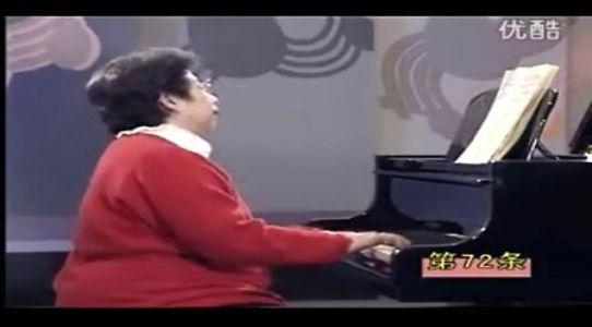 《车尔尼钢琴初级教程》Op.599 No.72(凌远版)