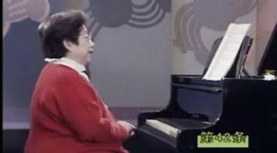 《车尔尼钢琴初级教程》Op.599 No.42(凌远版)