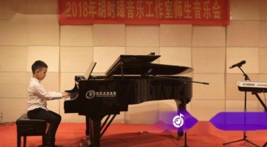 快乐的小天使  钢琴演奏:鲍禹豪